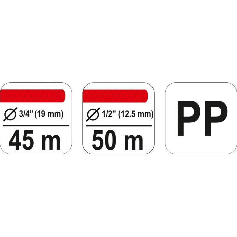 """WÓZEK DO WĘŻA OGRODOWEGO 3/4"""" 1/2"""" 50M"""