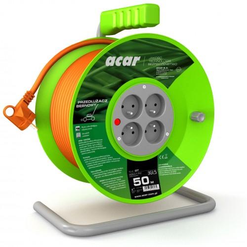 PRZEDŁUŻACZ OGRODOWY BĘBNOWY 3G1,5 H05VV-F (PVC)
