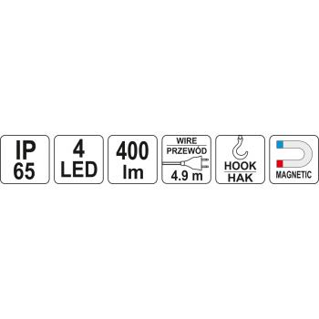 LAMPA WARSZTATOWA LED 230V IP65